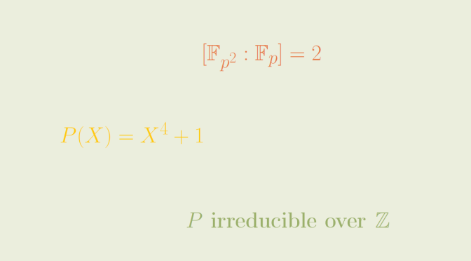 An irreducible integral polynomial reducible over all finite prime fields