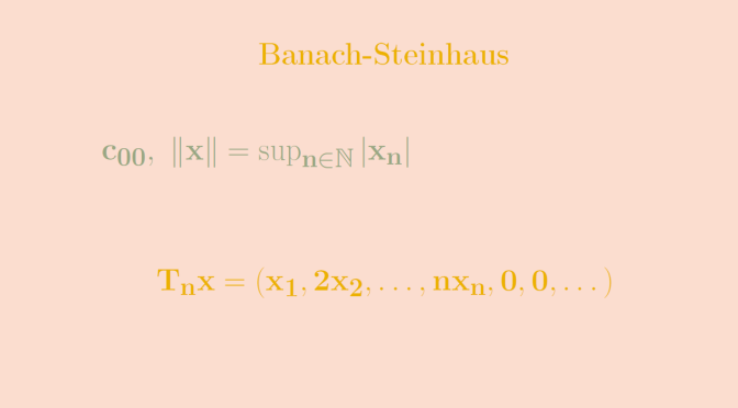 Counterexamples around Banach-Steinhaus theorem