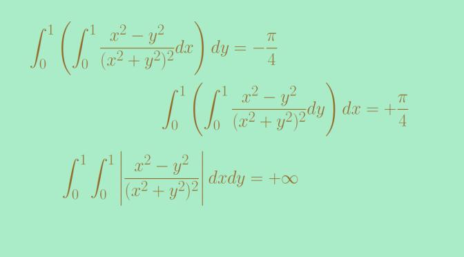 Counterexamples around Fubini's theorem