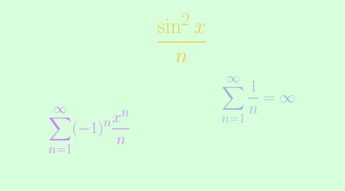 A uniformly but not normally convergent function series